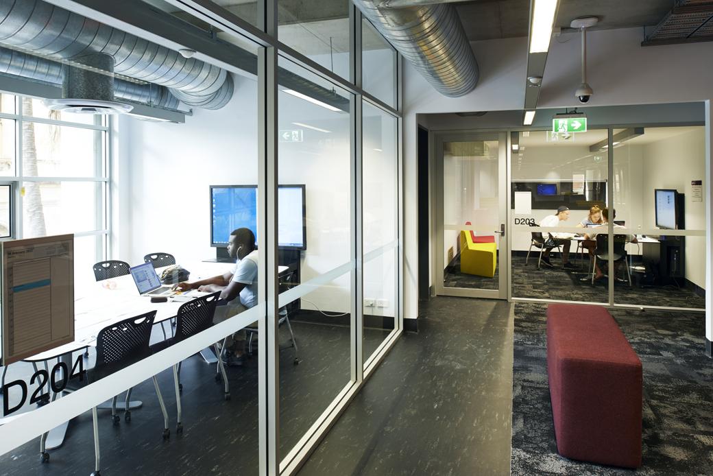 Queensland University Of Technology D Block Creative Industries School Design Dwp