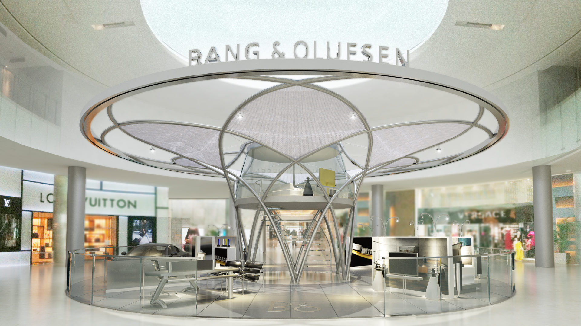 BH10-871 Bang and Olfusen Flagship - Bahrain World Trade Center