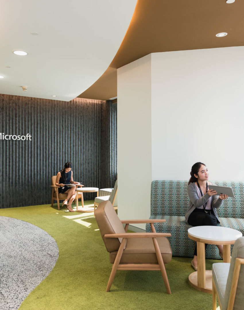 Microsoft workplace design
