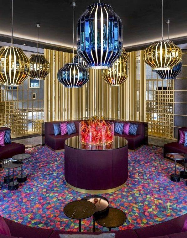 w lobby design