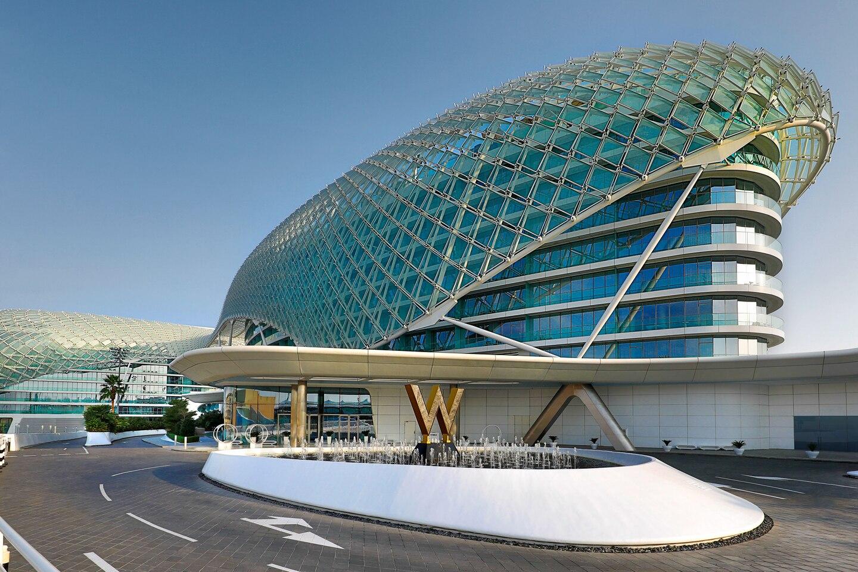W Abu Dhabi - Yas Island - Arrival Exterior
