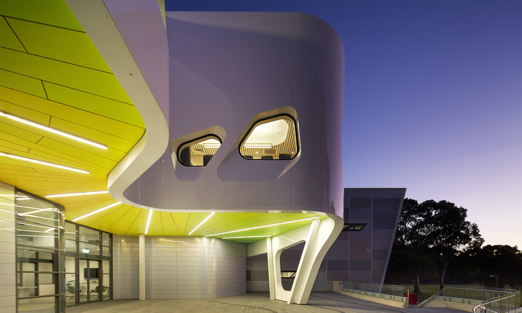 West Australian Institute of Sport High Performance Service Centre, Architect: Sandover Pinder