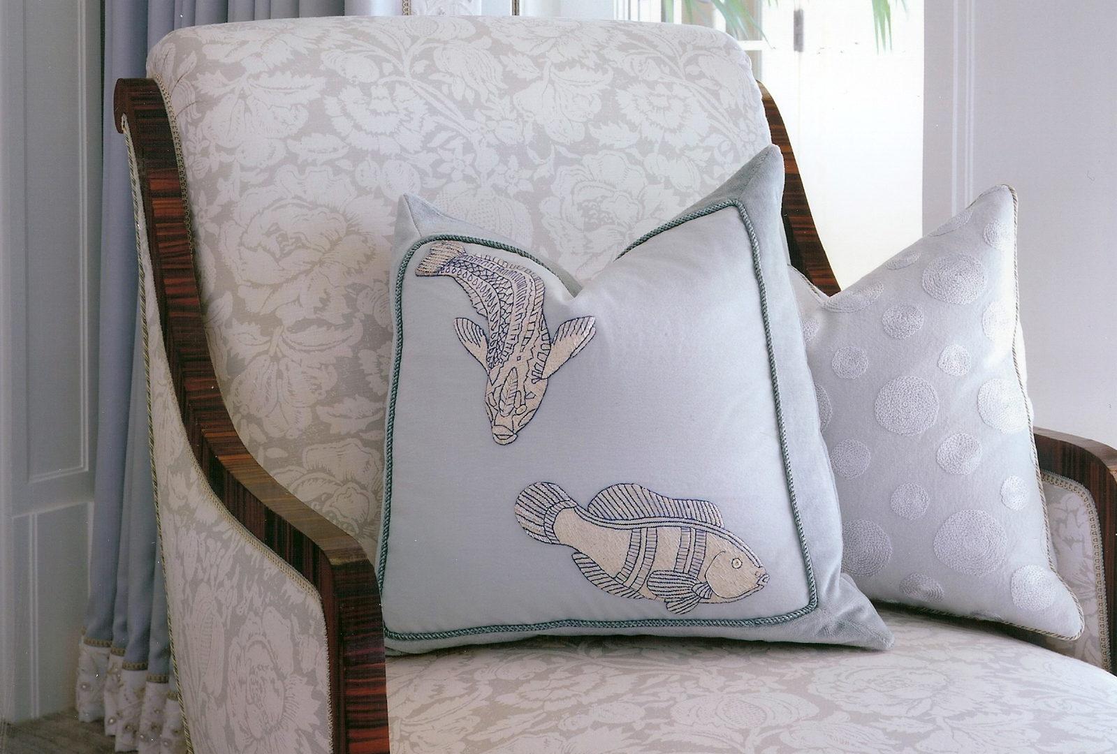 Master Bedroom Fish pillow