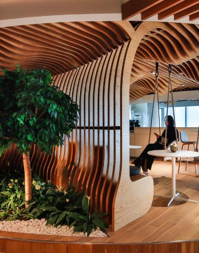 Smart dubai living office