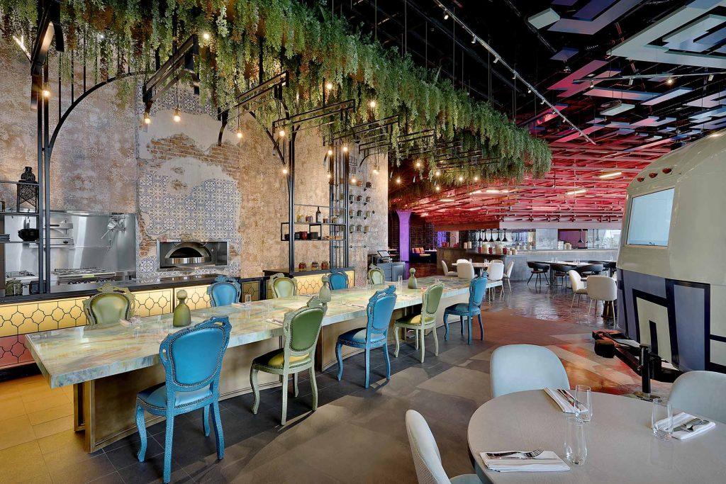 W Abu Dhabi - Yas Island Food Garage All Speciality Dining